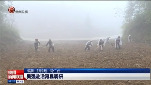[贵州新闻联播]吴强赴沿河县调研