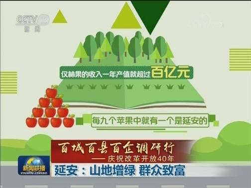 [视频]【百城百县百企调研行——庆祝改革开放40年】延安:山地增绿 群众致富