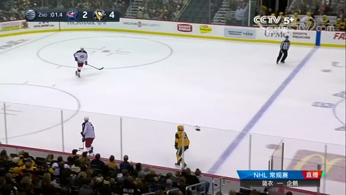 [NHL]常规赛:哥伦布斯蓝衣VS匹兹堡企鹅 第二节