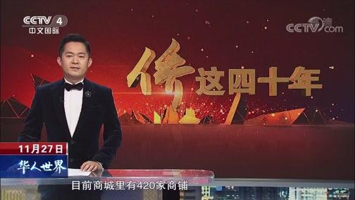 南非 徐长斌:在南非建商城 为中国商户提供发展平台 华人世界 2018.11.27 - 中央电视台 00:04:39