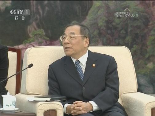 """[视频]杨晓渡会见参加第169届""""山村对话""""的外方代表"""
