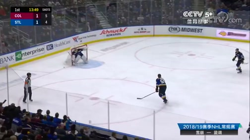 [NHL]常规赛:科罗拉多雪崩VS圣路易斯蓝调 第1节