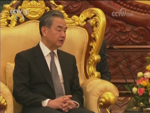 [视频]老挝人民革命党中央委员会总书记 国家主席会见王毅