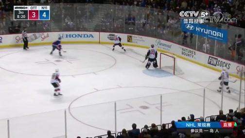 [NHL]常规赛:渥太华参议员VS纽约岛人 第三节