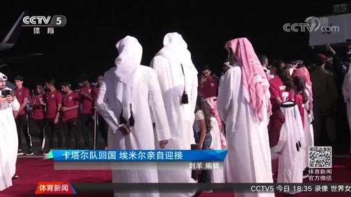 [亚洲杯]卡塔尔国家队凯旋 埃米尔亲自到机场迎接(新闻)