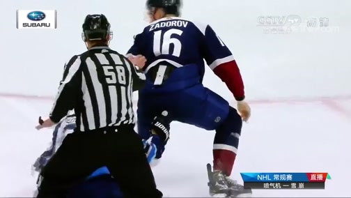 [NHL]常规赛:温尼伯喷气机VS科罗拉多雪崩 第3节