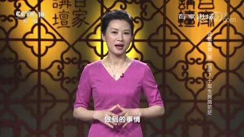 《百家讲坛》 20190310 诗歌爱情(第二部) 7 十年生死两茫茫