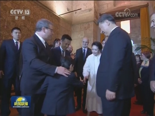 [视频]习近平会见意大利西西里大区主席