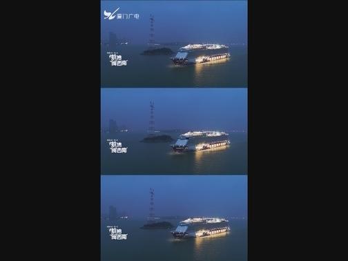 """巨无霸!凌晨4点航拍厦门港全球最佳十大邮轮""""世界梦号"""" 00:00:17"""