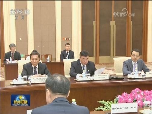 [视频]李克强会见蒙古国总统
