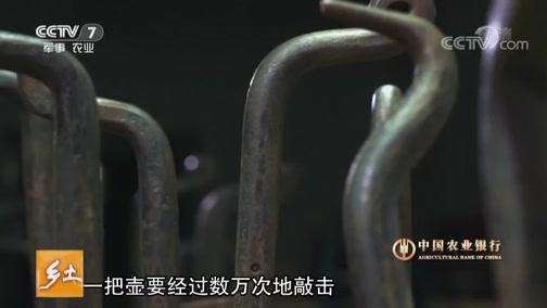 《乡土》 20190429 手艺中国·银壶