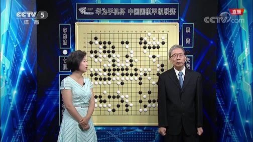 [棋牌]中国围棋甲级联赛第13轮:蔡竞VS李维清