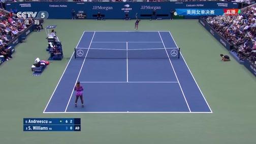[美网]女单决赛:安德莱斯库VS小威廉姆斯