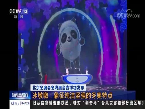 [新闻直播间]北京冬奥会冬残奥会吉祥物发布