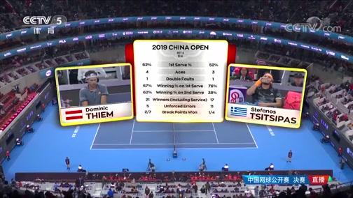 [中网]男单决赛:蒂姆VS西西帕斯 2