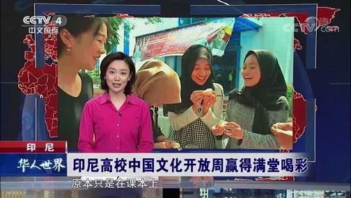 [华人世界]印尼 印尼高校中国文化开放周赢得满堂喝彩