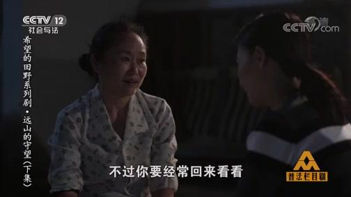 《普法栏目剧》 20191011 希望的田野系列剧·远山的守望(下集)