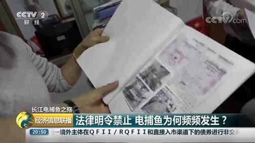 [经济信息联播]长江电捕鱼之殇 法律明令禁止 电捕鱼为何频频发生?
