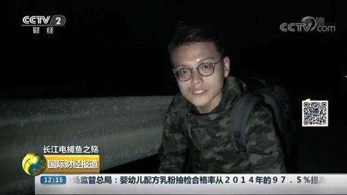 [国际财经报道]长江电捕鱼之殇 洞庭湖:深夜出动 非法电鱼船密集作业