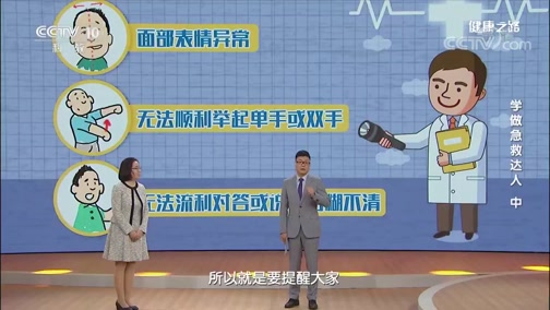 《健康之路》 20200205 学做急救达人(中)