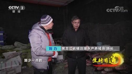 《生财有道》 20200219 黑龙江镜泊湖:冰天雪地发鱼财