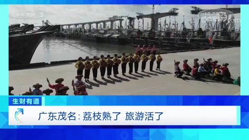 《生财有道》 20200527 广东茂名:荔枝熟了 旅游活了