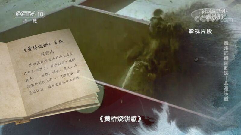 《跟着书本去旅行》 20200911 泰州的诗画韵味——非遗味道