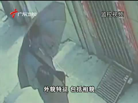 《南粤警视》 20150927 戴假发的男人