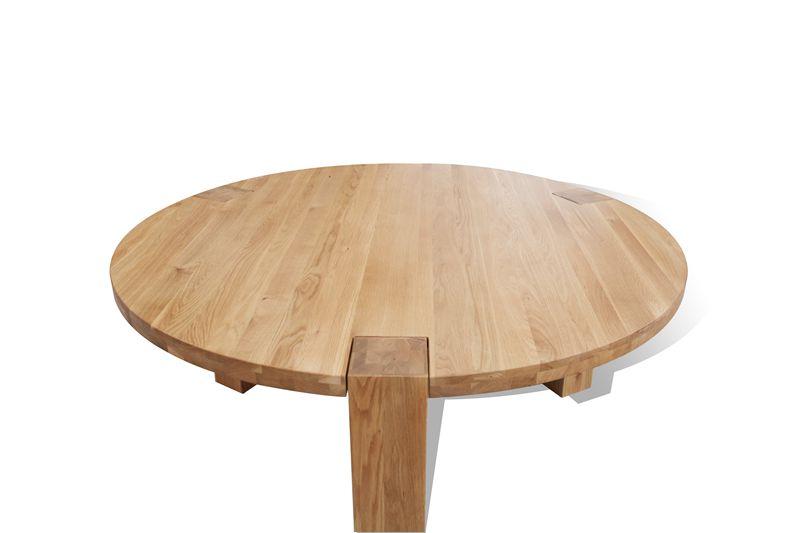 简欧餐桌实木圆形个性时尚简约现代宜家美式乡村圆桌厂家直销饭桌颜色