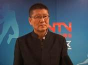 采访青海省体育局局长<br>冯建平