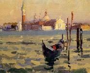 大运河黄昏(意大利)