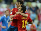 تعادل إسبانيا و إيطاليا 1-1