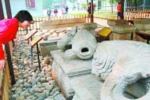 Reclaimed treasures of Yuanmingyuan on display