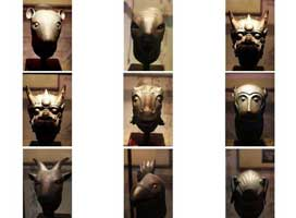 Yuanmingyuan animal head sculptures
