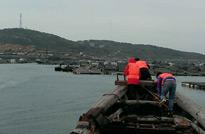福建莆田,乘坐渔船赶往拍摄地点