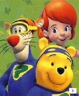 小熊维尼与跳跳虎<br>跟着小熊维尼、跳跳虎和黛比一起到百亩森林寻找宝藏,探索世界奥秘吧!