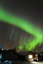 <b>Aurora Borealis light up sky in Sweden </b>
