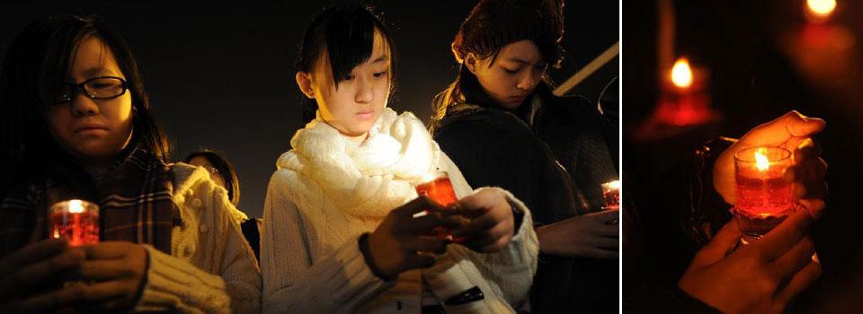 Massacre victims remembered at Nanjing vigil