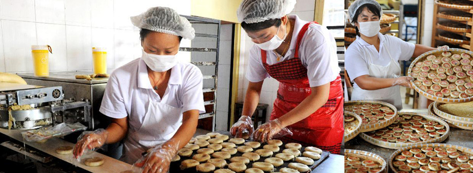 Mooncakes prepared for Mid-Autumn Festival