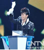 内地年度最受欢迎男歌手:韩庚