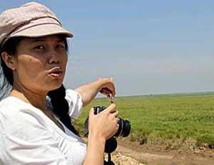 Sécheresse en Chine : le lac Poyang devenue en partie une prairie