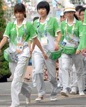 演员志愿者方队-陈悦等