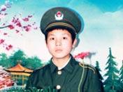 冯思广从小就向往成为一名解放军战士