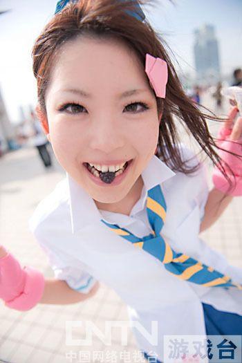 日本可爱少女《一骑当千》马超cos