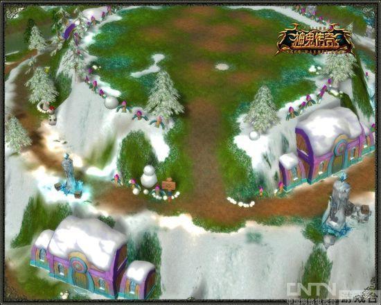 《神鬼传奇》彩虹岛二层实景