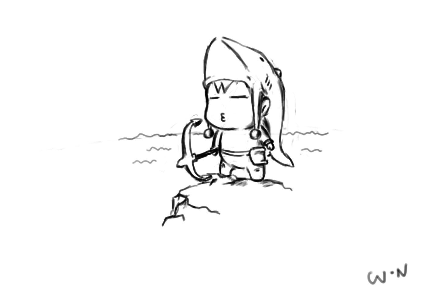 玩家蜗牛滴旋律手绘dota英雄超萌图