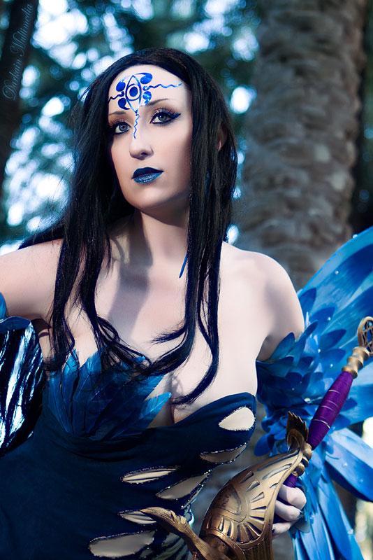国外美女cosplay中国古代神话人物