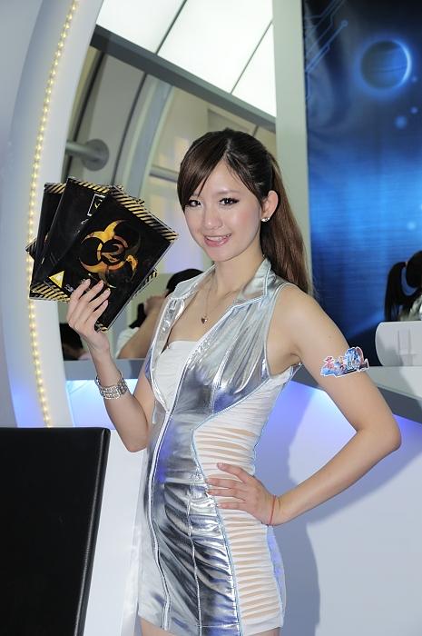 可爱台妹来袭!台北电脑应用展Showgirl精选