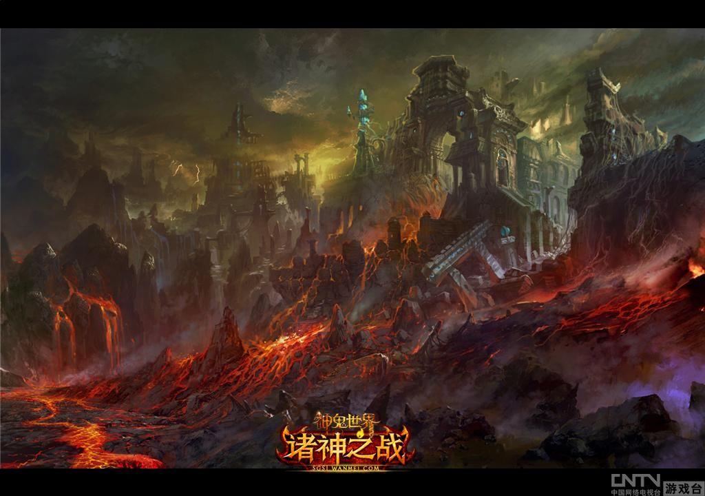 神鬼世界首部资料片诸神之战10月13公测