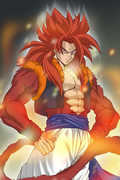 七龙珠最强战斗 超赛4悟吉塔VS一星龙